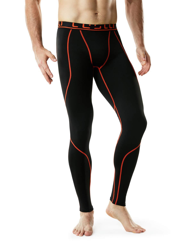 TM-YUP43-KOG_2X-Large Tesla Men's Thermal Wintergear Compression Baselayer Pants Leggings Tights YUP43 by TSLA (Image #8)
