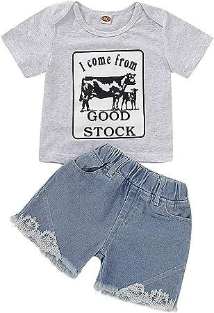US Stock Newborn Baby Boy Autumn Clothes Tops T-shirt Pants Leggings Xmas Outfit