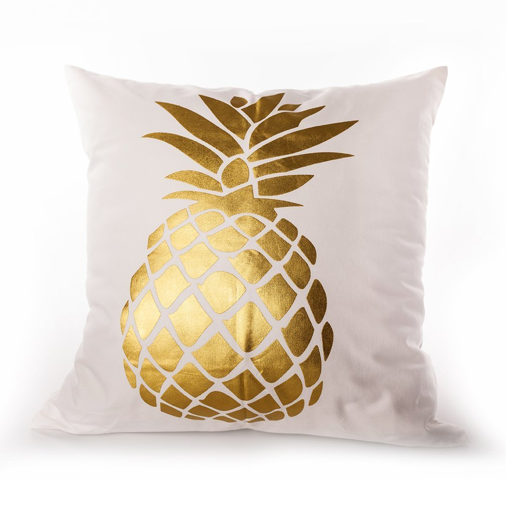 products img ivory linen pillow cover watercolor and pineapple