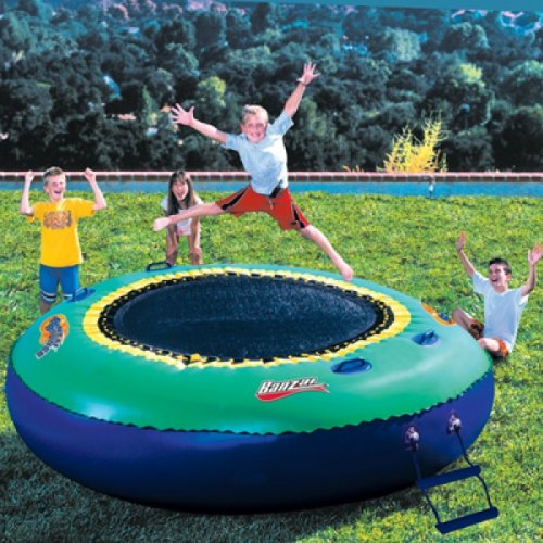 Spring & Summer Toys Banzai Bounce Trampoline on Water or Land by Banzai (Image #1)