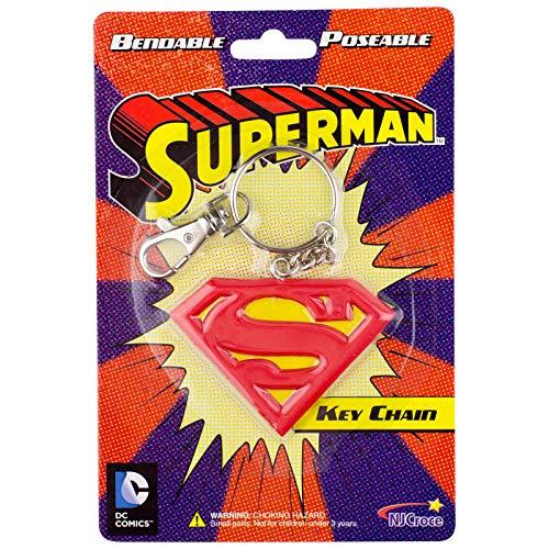 NJ Croce Superman Logo Key Chain