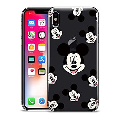 promo code 6a9dd dcdac GSPSTORE iPhone XR Case,Mickey and Minnie Mouse Disney Pattern ...