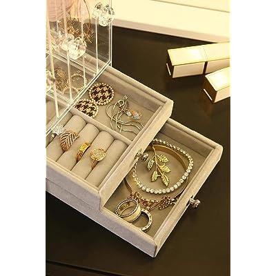 Pendant Drop Earring Jewellery Holder Long Display Rack Stand Necklace Organiser