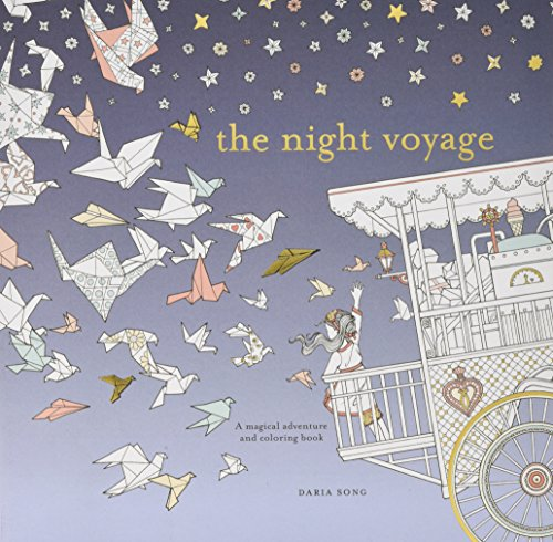 The Night Voyage: A Magical Adventure and Coloring Book (Time Adult Coloring