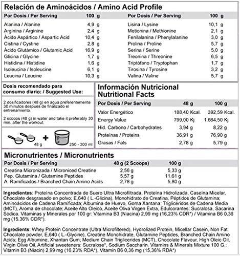 MTX nutrition OneWhey [1,008 kilos ] 2,2 Lbs. HELADO DE FRESA - Proteínas de Suero Premium fabricado por Microfiltración muy bajo en lactosa, grasa