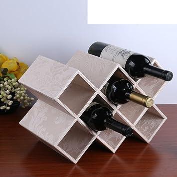 Zhas Support De Vin Décorationporte Bouteille De Vinbois Display