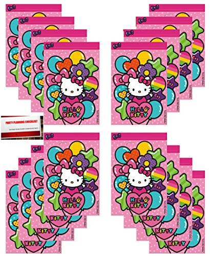 16 Pack Hello Kitty Party Plastic Loot Treat