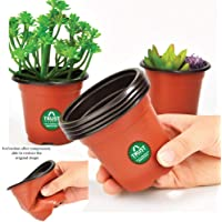 TrustBasket Nursery Plastic Pot 5 inch - Set of 20 Pots