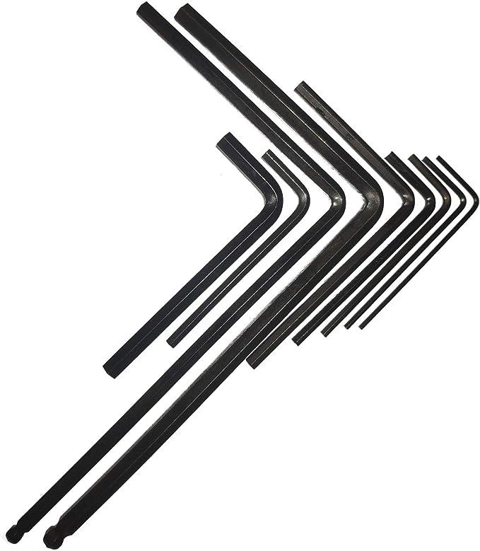2 Pc Kugelende Halsstab-Werkzeug Gitarre Anpassung Innensechskantschlüssel Für