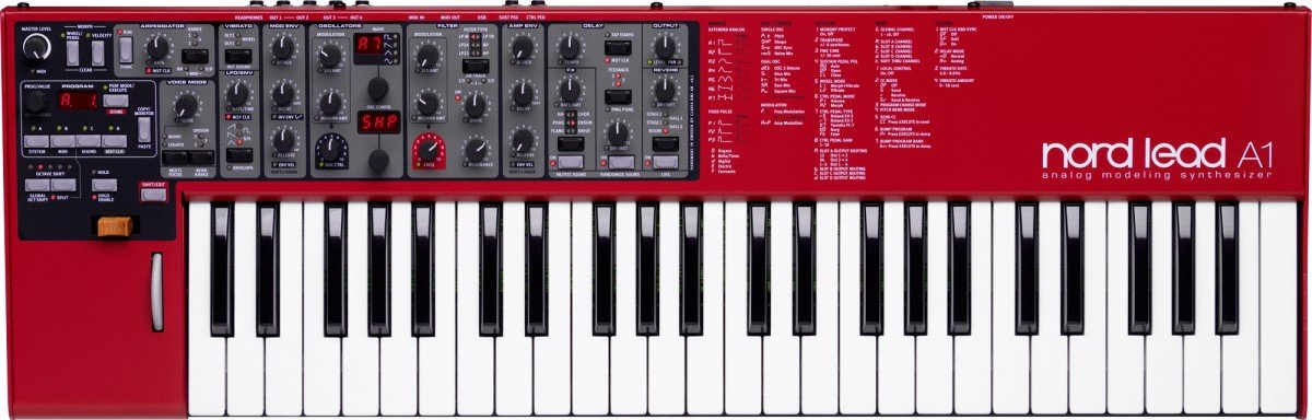 Nord Lead A1 49-Key Analog Modeling Synthesizer (NORD-LEAD-A-1) by Nord
