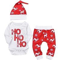 K-youth Ropa Bebe Nino Recien Nacido Otoño Invierno Infantil Body Bebe Niña Conjunto Bebé Mono Navidad Papá Noel Letra…
