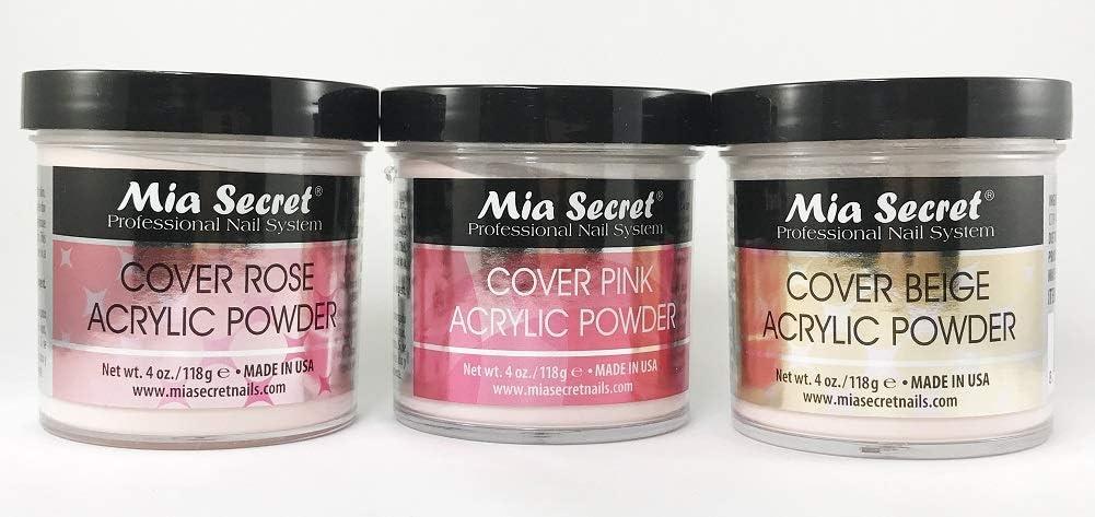 Mia Secret COVER ROSE ACRYLIC POWDER 4oz