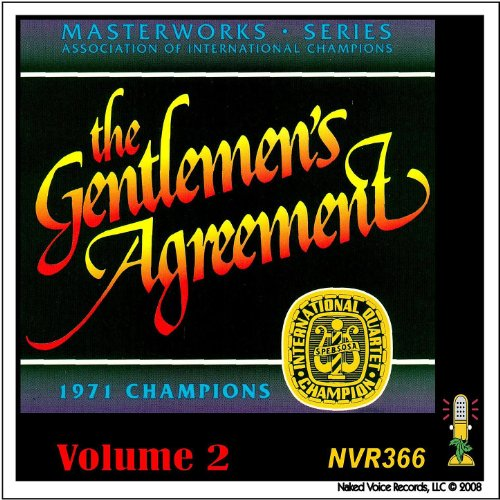 The Gentlemens Agreement Masterworks Series Volume 2 By The