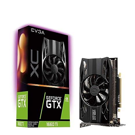 Tarjeta Gráfica EVGA GeForce GTX 1660 Ti XC Gaming, 6GB GDDR6, Fan HDB, 06G-P4-1263-KR