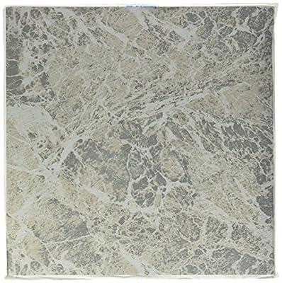 """Winton Tile 226E 12"""" x 12"""" Floor Tile, Gray Marble Swirl"""