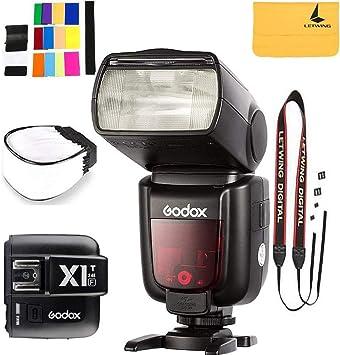 GODOX V860II-F 2.4G TTL Li-on Battery Camera Flash Speedlite Compatible for Fujifilm Camera X-Pro2 X-T20 X-T1 X-T2 X-Pro1 X100F,GODOX X1T-F 1//8000s HSS 32 Channels Flash Trigger Compatible for Fuji