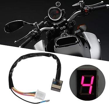 Motorrad Ganganzeige Universal Motorrad Led Digital Ganganzeige Gangschaltung Kupplungshebel Sensor Zubehör Auto
