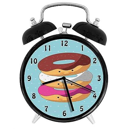 Amazon.com: Onesix-one Kawaii - Reloj despertador con diseño ...