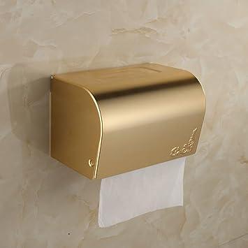Smq Plateau Sanitaire Salle De Bain Wc Or Porte Bijou Boite A Papier