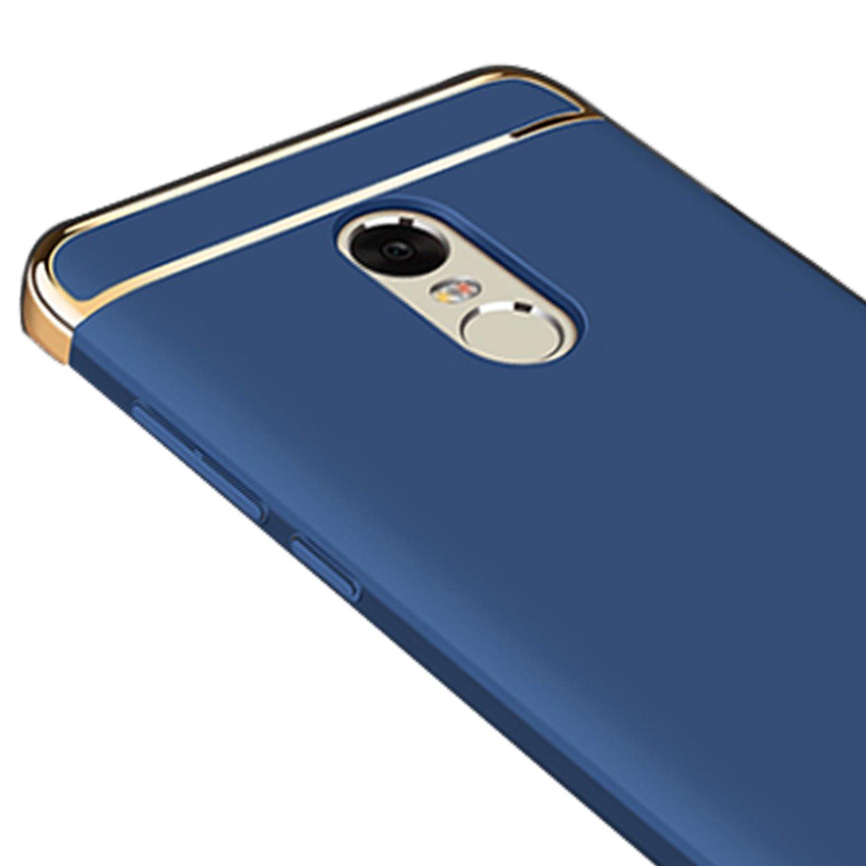 Funda Xiaomi Redmi note 4,Carcasa Funda Ultra-Delgado Luxury 3 en 1 Desmontable Anti-Ara/ñazos Hard Case Cover Protectora Funda para Xiaomi Redmi note 4,Dolado