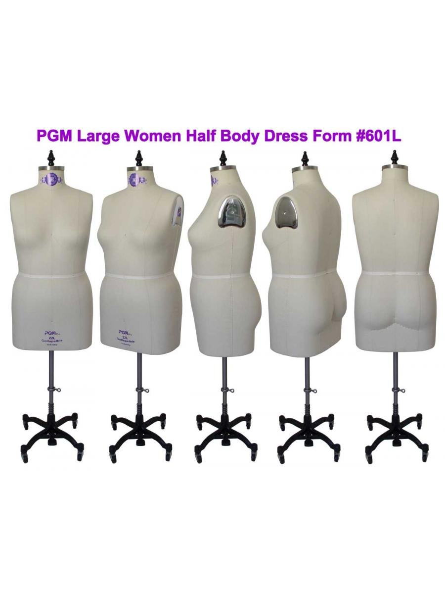 Amazon.com: Professional Dress Form Plus Size Large Woman ...