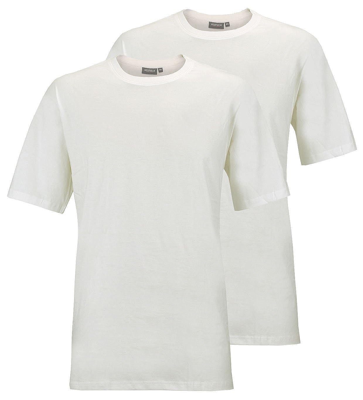 Redfield Lot de 2 T-shirts col rond  Amazon.fr  Vêtements et accessoires 3e3034078294