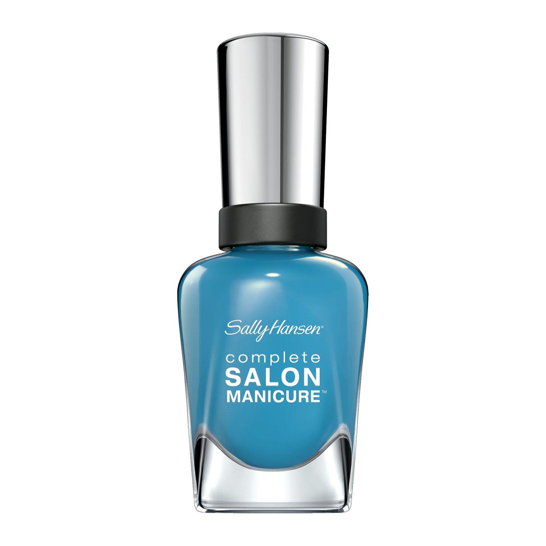Sally Hansen Complete Salon Manicure, Blue Chip, 0.5 Ounce