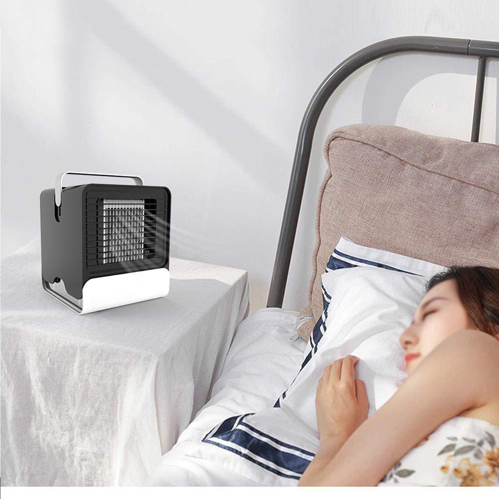 Voiture Climatiseur Ion N/égatif Mini Climatisation Ventilateur USB Ventilateur De Bureau Bureau Dortoir M/énage Petit Refroidisseur Dair