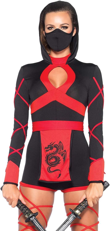 Amazon.com: Leg Avenue – Disfraz de ninja dragó ...
