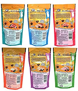 Wellness Kittles Grain Free Natural Cat Treats Made in USA Only, 2-Ounce Bag