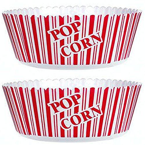 "Popcorn Serving Bowl Large 10"" X"