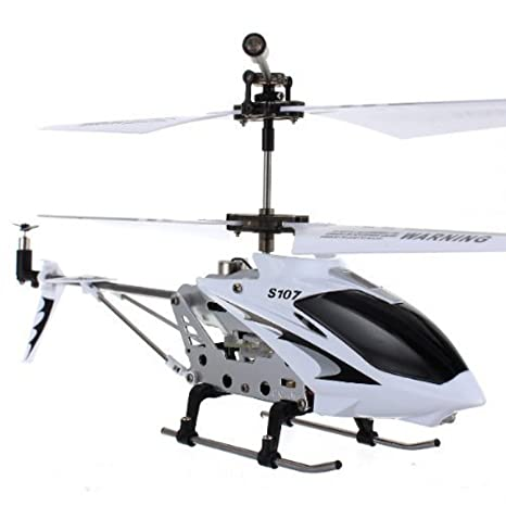 Amazon Syma S107g 3 Channel Rc Helicopter With Gyro White And