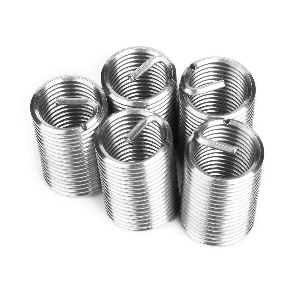 M202.52.5D Thread Repair Insert,Stainless Steel Coiled Wire Helical Screw Thread Inserts
