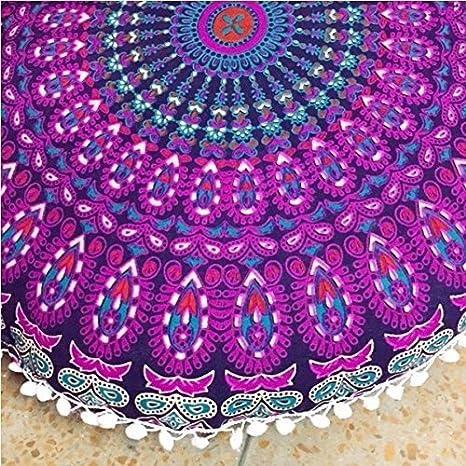 Mandala Zulistore piso decorativo redondo cojín cómodo ...