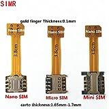 Amazon.com: Kofun Hybrid Double Dual SIM Card Micro SD ...