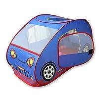 Tienda-coche plegable GIM para niños con piscina de bolas, para interior y exterior
