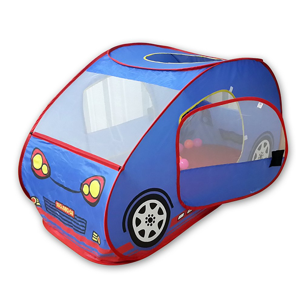 GIM Kids Pop Up Play Tent Foldable Car Popup Pit Balls Pool for Baby Toddler Children Indoor and Outdoor