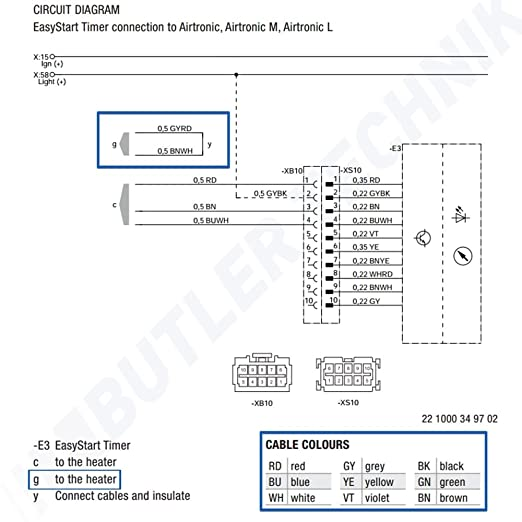 61X%2BLbk4uwL._SX522_ amazon com eberspacher espar heater easystart 7 day programmable airtronic d2 wiring diagram at soozxer.org