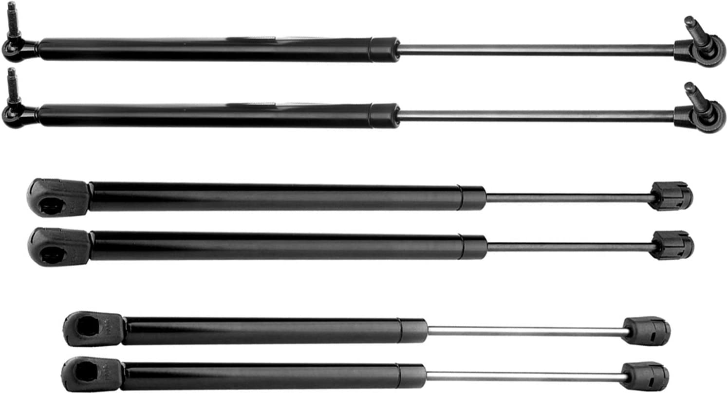 4048 Lid Support 4528 Replacement Hood 4699 Force Output 120N-863N Gas Spring Shocks Krator 6pcs 4699 Gas Strut Prop Arms 901383 Rear Window Lift Supports Liftgate SG314030 072-873