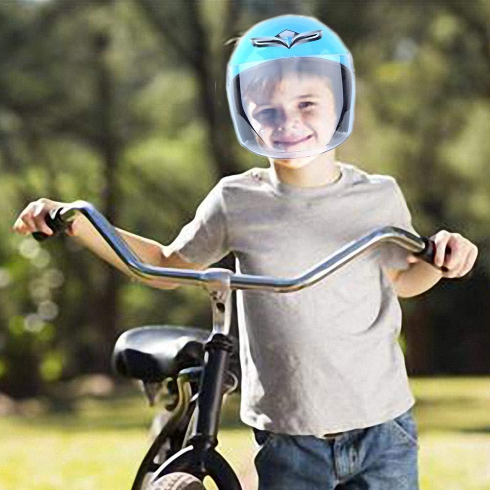Casque de Moto pour Enfants,Casque /électrique,Demi Casque Eruditter Casque gar/çon et Enfant