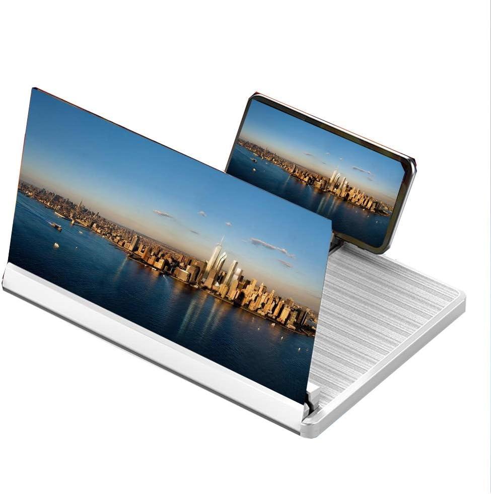 HHGO Lupa de Pantalla para Smartphone 3D HD,Monitor del ...