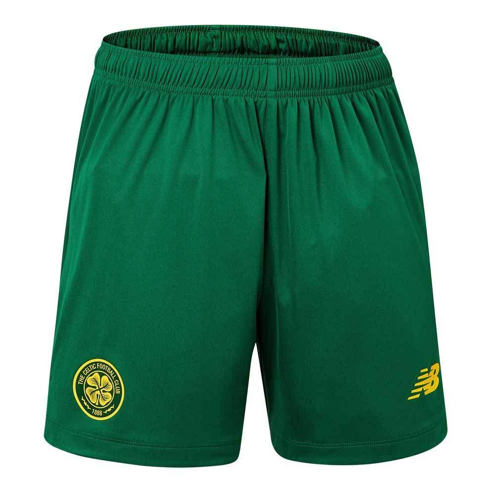 New Balance Officiel KIDS Celtic FC Away Football Shorts Bottoms 2019-20