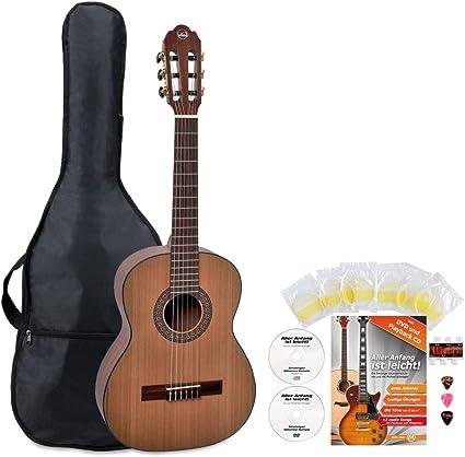 VGS Pro Arte cm de 50 Maestro Guitarra de concierto 1/2 Starter ...