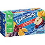 Capri Sun Juice Drink Blend, Fruit Punch, 10 Pouches (Pack of 4)