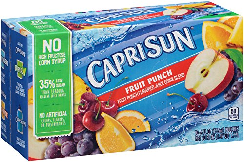 Top 10 best capri sun fruit punch pouches: Which is the best one in 2020?