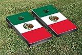 Mexican Flag Themed Cornhole Bean Bag Toss Game