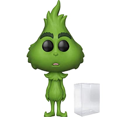 Funko Pop! Dr. Seuss: The Grinch Movie - Young Grinch Vinyl Figure (Includes Pop Box Protector Case): Toys & Games