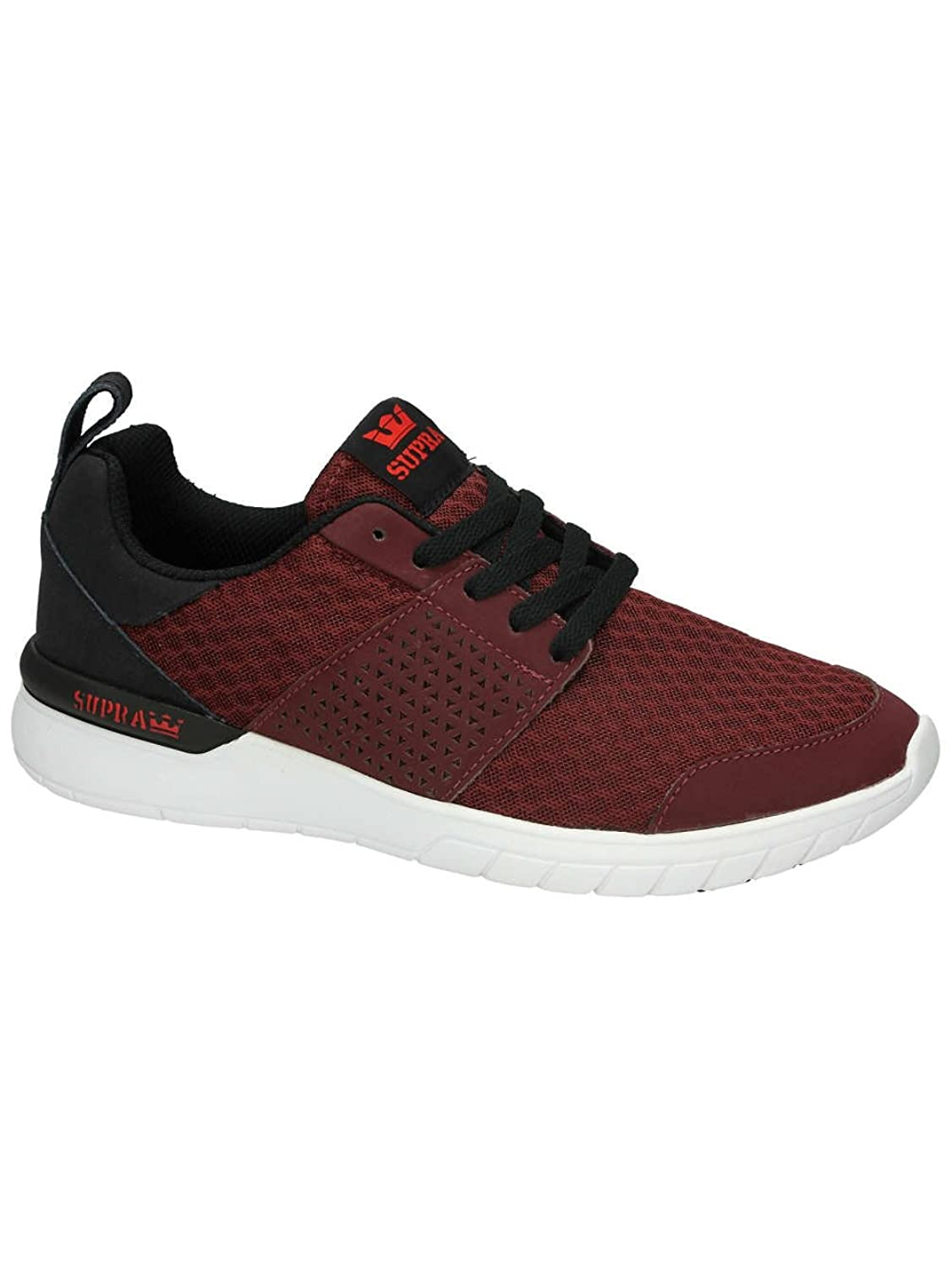 Supra Men's Scissor Burgundy/Black/White Sneaker Men's 11 D (M)