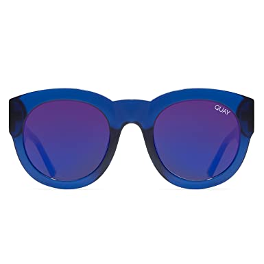 e1a6eed00a Image Unavailable. Image not available for. Color  Quay Australia IF ONLY  Women s Sunglasses Round ...