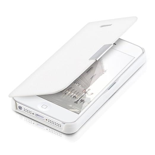213 opinioni per kwmobile Cover per Apple iPhone SE / 5 / 5S- Custodia protettiva apribile a
